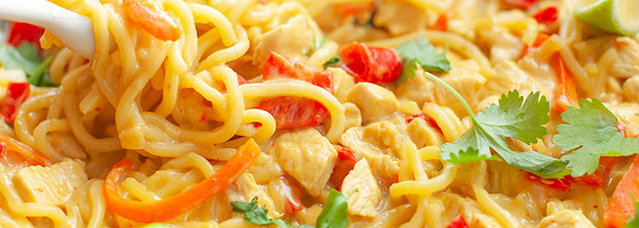 Makaron Ramen Z Kurczakiem Curry Kwestia Smaku