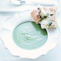 Zupa Brokulowa Ze Szpinakiem I Mascarpone Kwestia Smaku