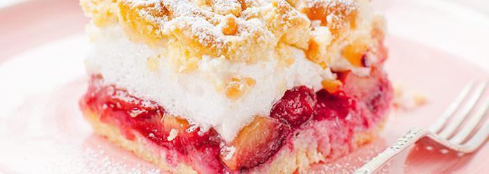 Ciasto Kruche Ze śliwkami I Bezą Kwestia Smaku