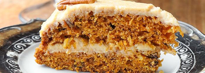 Ciasto Marchewkowe Z Kremem Orzechowym Kwestia Smaku