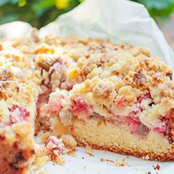 Ciasto Z Rabarbarem I Kruszonka Kwestia Smaku