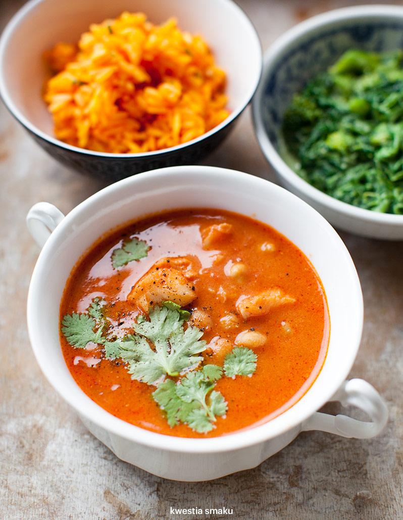 Curry Pomidorowe Z Dorszem I Ciecierzyca Kwestia Smaku