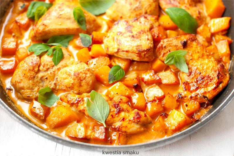 Kurczak Curry Z Dynia