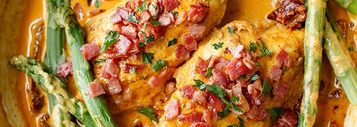 Kurczak W Sosie Z Suszonymi Pomidorami Kwestia Smaku