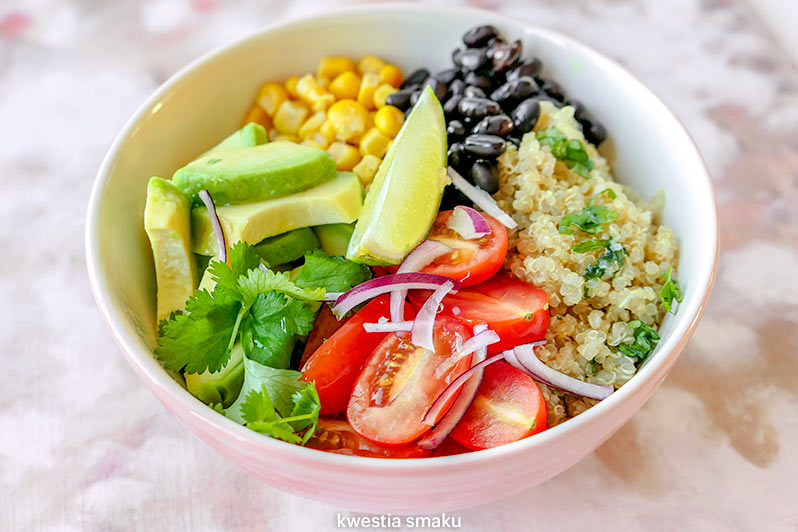Meksykanska Salatka Z Quinoa Kwestia Smaku