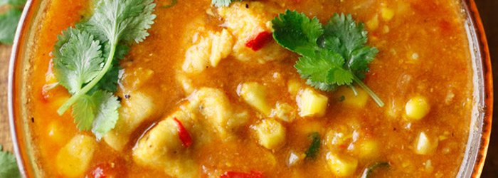 Meksykanska Zupa Z Kurczakiem I Kukurydza Kwestia Smaku
