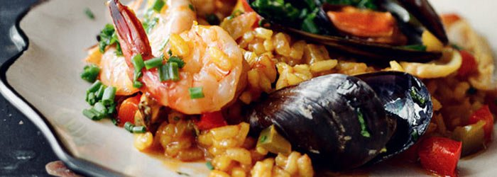 Paella Z Owocami Morza Kwestia Smaku