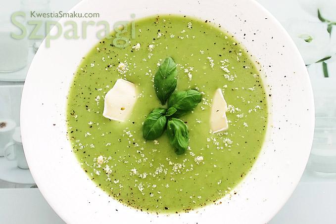 Zupa Krem Szparagowa Z Zielonych Szparagów