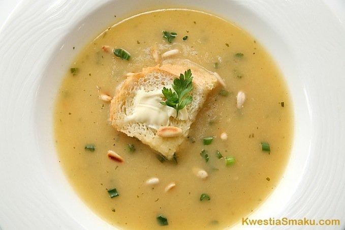 Zupa Krem Z Pora I Jablka Kwestia Smaku