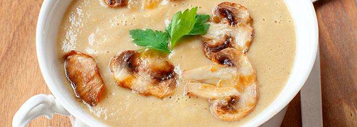 Zupa Pieczarkowa Z Grzankami Z Pesto I Mozzarella Kwestia Smaku
