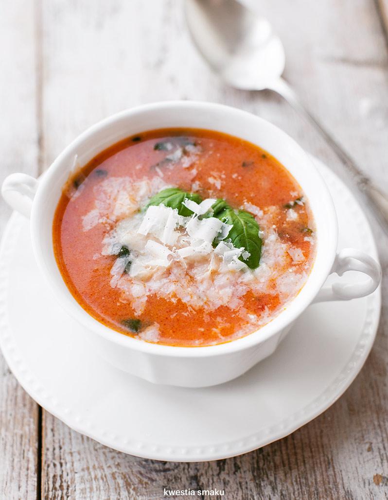 Zupa Pomidorowa Z Ryżem Kwestia Smaku