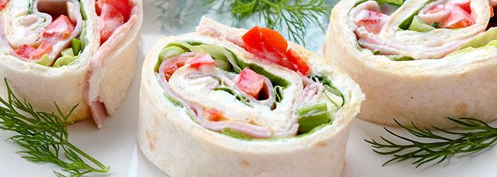 Roladki Z Tortilli Z Szynka I Papryka Konserwowa Kwestia Smaku