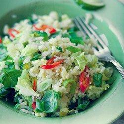 Ryż jaśminowy po tajsku