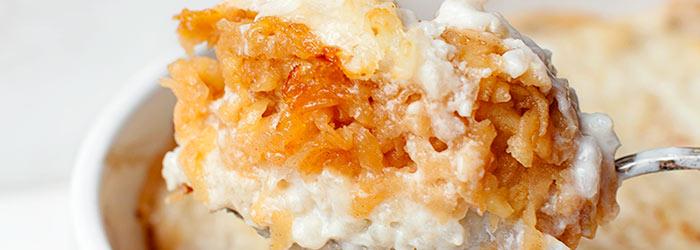 Ryż Zapiekany Z Jabłkami I Cynamonem Kwestia Smaku