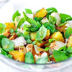 Salatka Z Grillowanym Kurczakiem I Ananasem Kwestia Smaku