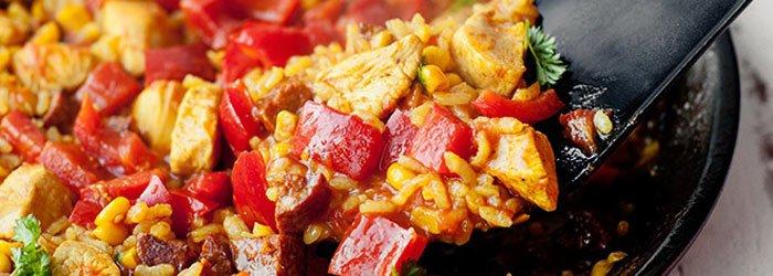 Paella Z Kurczakiem I Chorizo Blog Kwestia Smaku