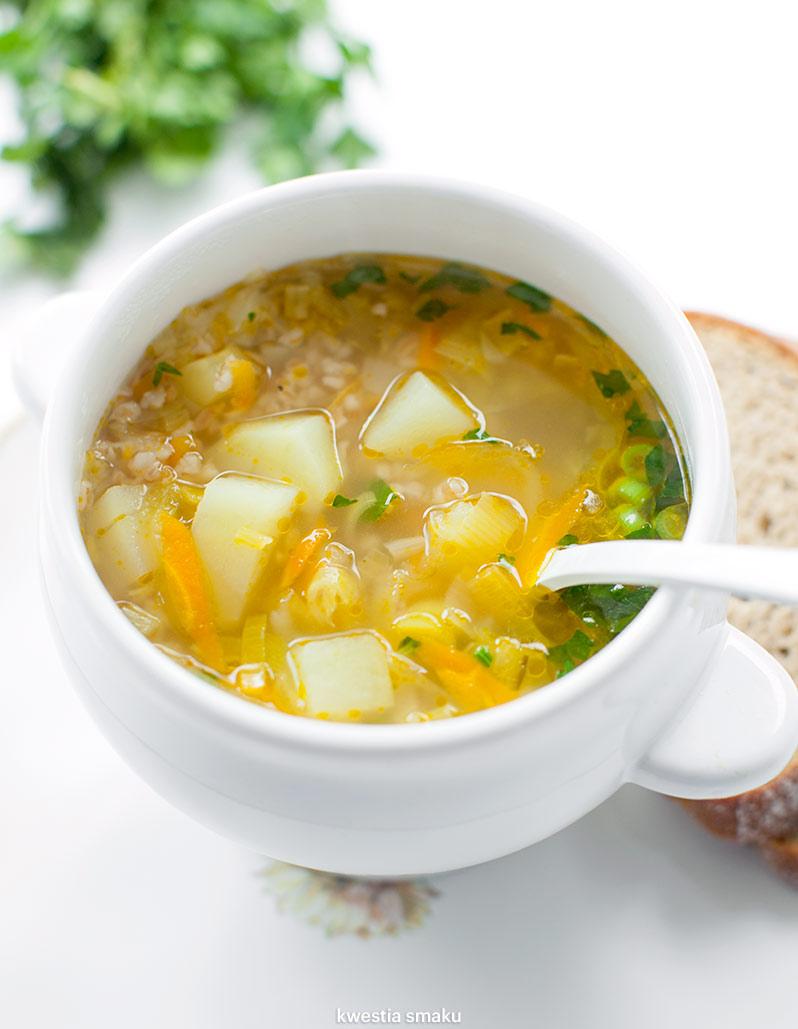 Zupa Ogorkowa Fit Kwestia Smaku
