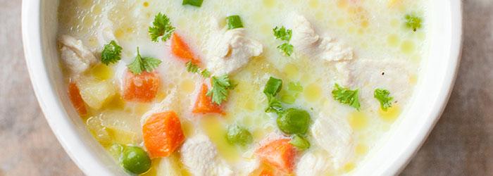 Zupa Z Kurczakiem Marchewka I Groszkiem Kwestia Smaku