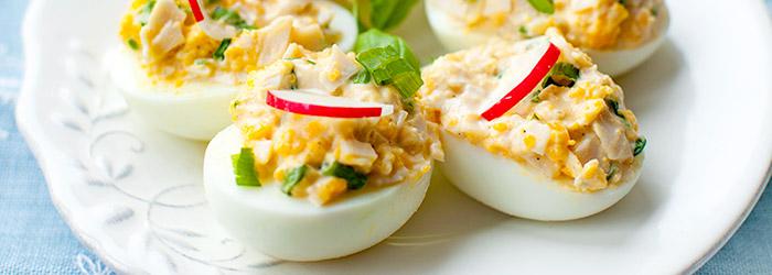 Jajka Faszerowane Szynka Kwestia Smaku